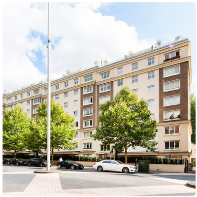 MONTROSE COURT, PRINCES GATE, SW7, £1,140,000, 2 Bedroom Apartment, Short lease